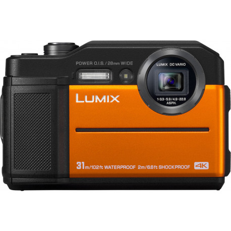 Panasonic Lumix DC-FT7, оранжевый