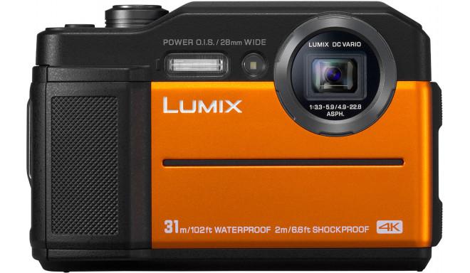 Panasonic Lumix DC-FT7, оранжевый
