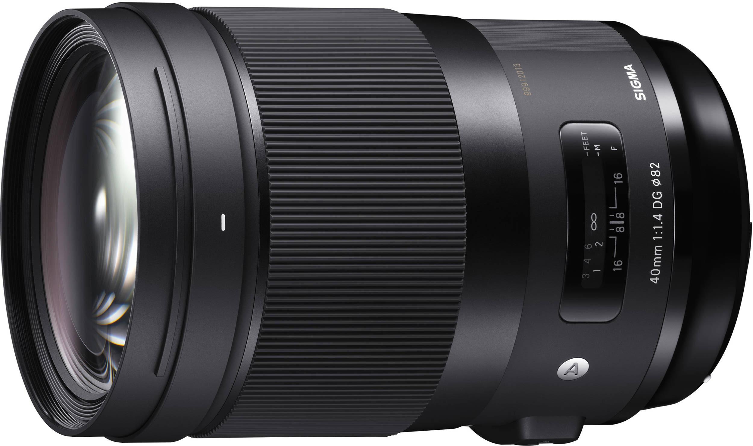 Sigma 40mm f/1.4 DG HSM Art objektiiv Canonile