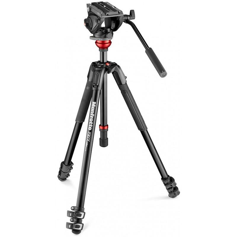 Manfrotto tripod kit MVK500190XV Alu Video Kit