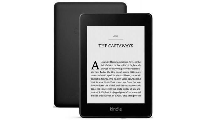 Amazon All New Kindle Paperwhite 32GB Wi-Fi, melns