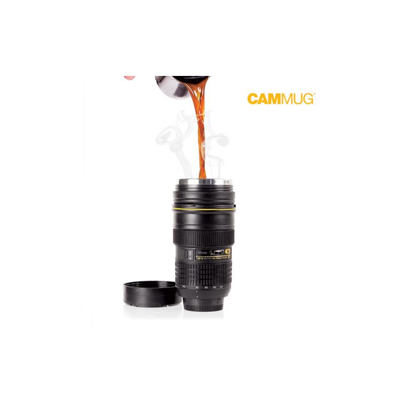 Термос в Форме Объектива Камеры Cammug