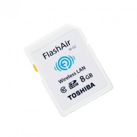 Flashair W 02 Karta Sd Z Wifi Toshiba 0190w111 Memory Cards