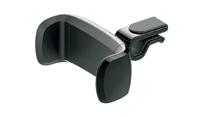 Omega telefona auto turētājs stiprināšanai pie ventilācijas restes Strawberry, melns 43483)