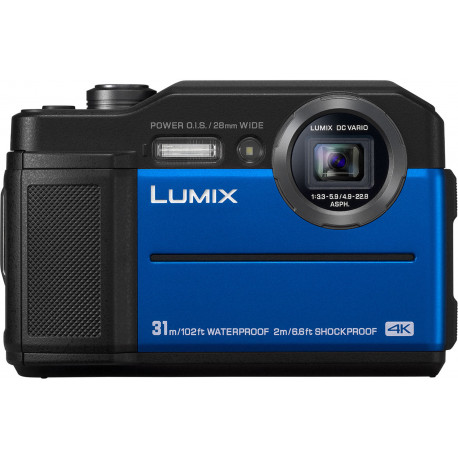 Panasonic Lumix DC-FT7, sinine