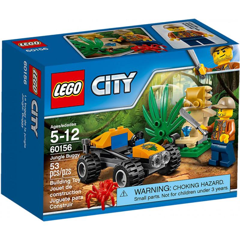 LEGO City toy blocks Jungle Buggy (60156)