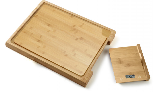 Platinet kitchen scale + cutting board PCBZB03