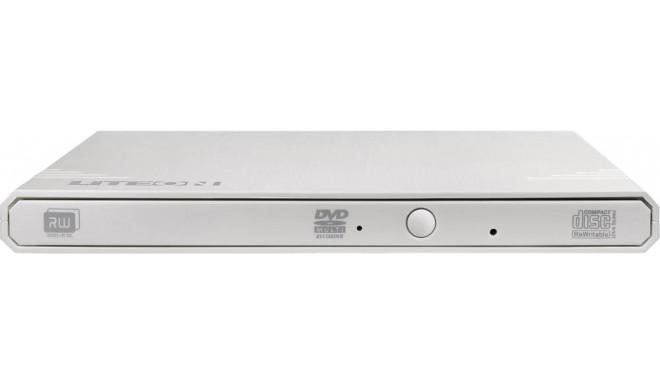 Liteon väline DVD/CD kirjutaja Ext 8x USB, valge (EBAU108)