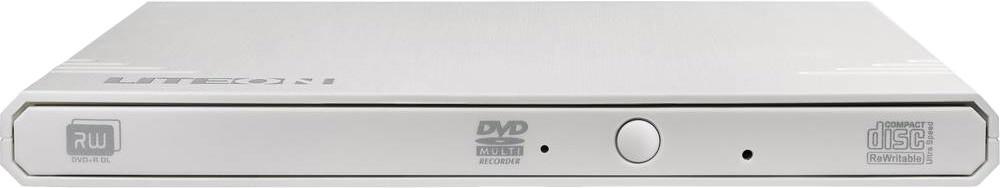 Liteon väline DVD/CD kirjutaja Ext 8x USB, valge..