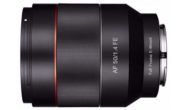 Samyang AF 50mm f/1.4 objektiiv Sonyle