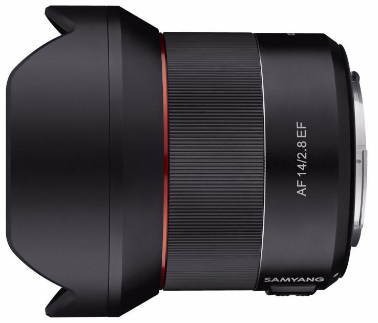 Samyang AF 14mm f/2.8 objektiiv Canonile