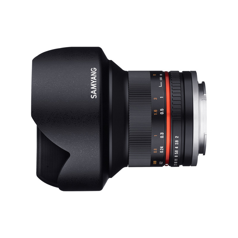 Samyang 12mm f/2.0 NCS CS objektiiv Fujile