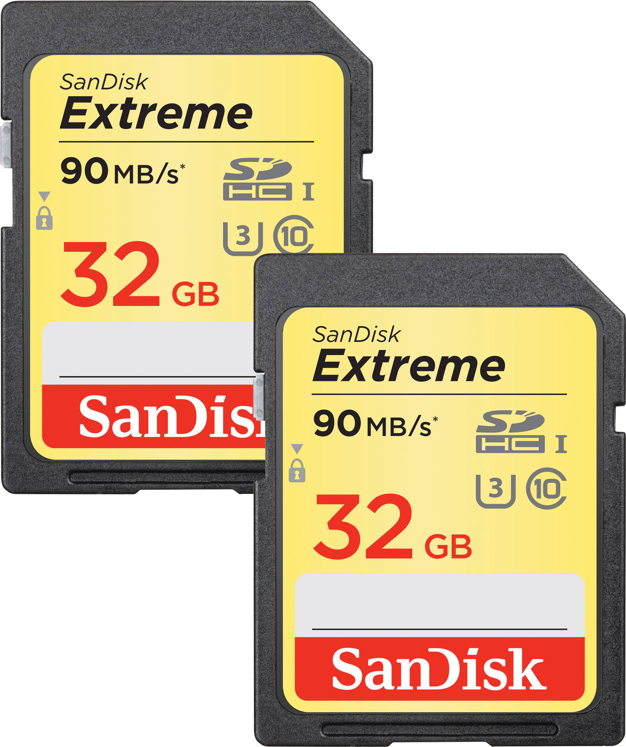 Sandisk mälukaart SDHC 32GB Extreme Video V30 2tk