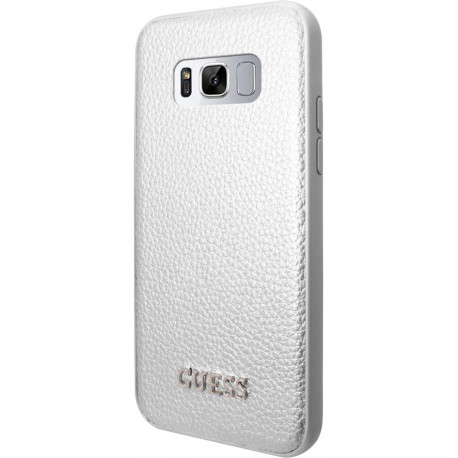 fe86448c3fe Guess case Iridescent Samsung Galaxy S8 Plus, silver (GUHCS8LIGLSI)