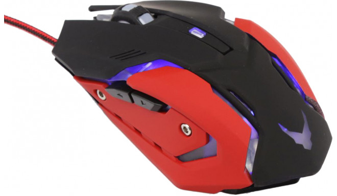 Omega hiir Varr Gaming LED + hiirematt