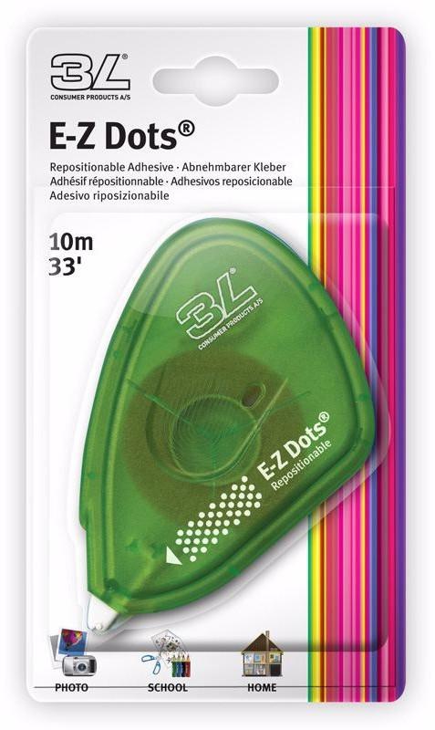 3L fotoliim E-Z Dots Removable 9mm x 10m