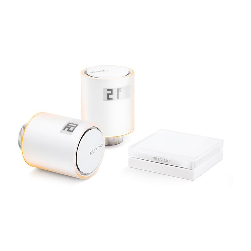 Netatmo termostaatide komplekt radiaatorile Smart Radiator Valves Starter Pack