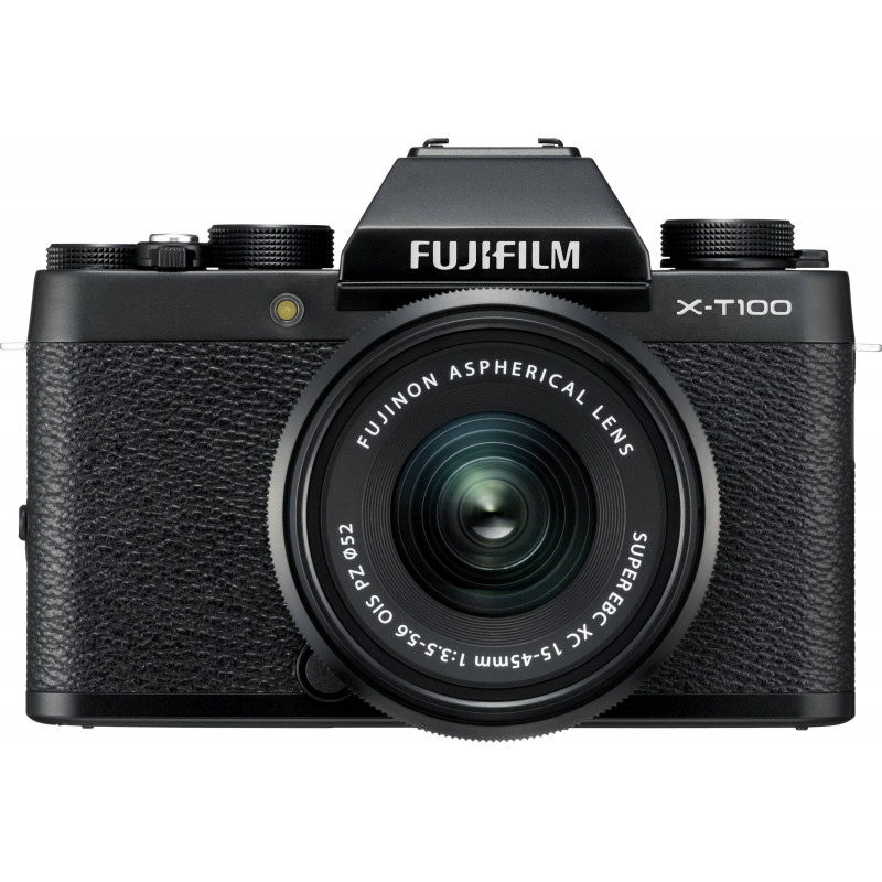 Fujifilm X-T100 + 15-45mm + 50-230mm Kit, must