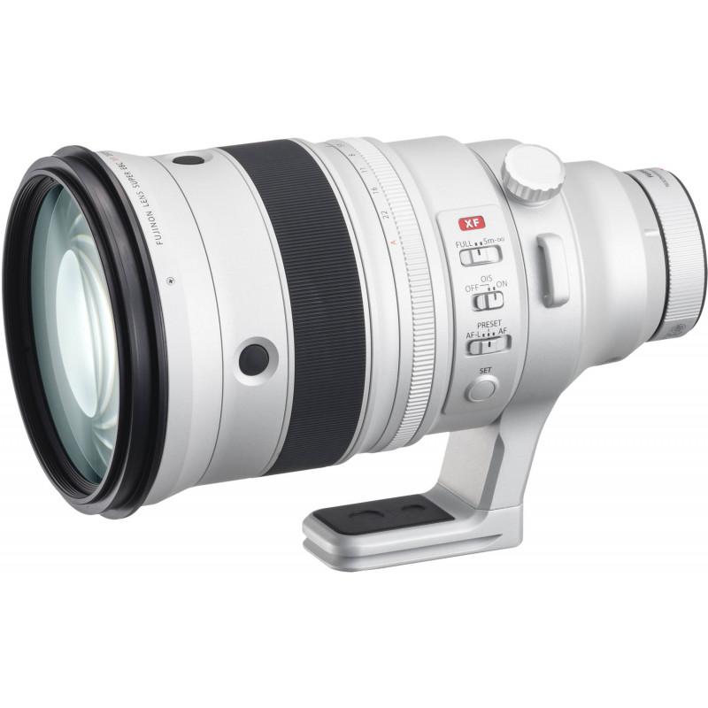 Fujinon XF 200mm f/2 R LM OIS WR objektiiv + XF 1.4x telekonverter