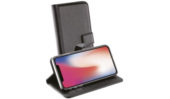 Vivanco kaitseümbris iPhone XS Max Wallet, must (38826)