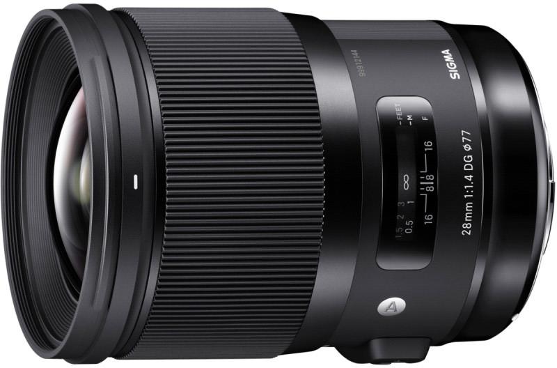 Sigma 28mm f/1.4 DG HSM Art objektiiv Nikonile