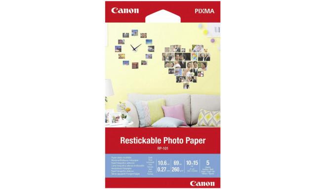 Canon fotopaber Restickable RP-101 10x15cm 5 lehte