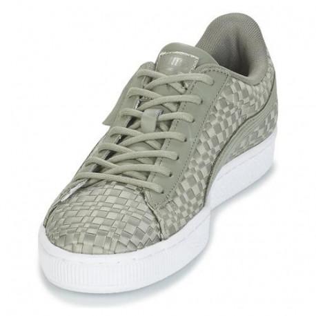 4c3d0fa8692 Shoes PUMA Basket Satin Ep Wn S Rock Ridge-Rock Rid (women's; 41; gray  color) - Training shoes - Photopoint