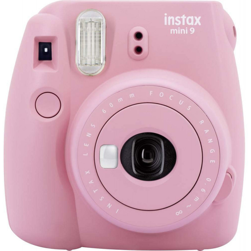 Fujifilm Instax Mini 9, blush rose + Instax Mini paber