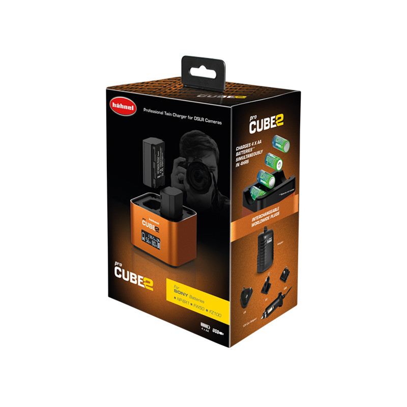 Hähnel laadija ProCube 2 Twin Sony