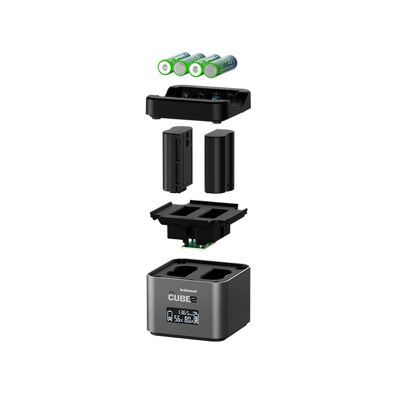 db4d496125b Hähnel charger ProCube 2 Twin Nikon - Special purpose chargers ...