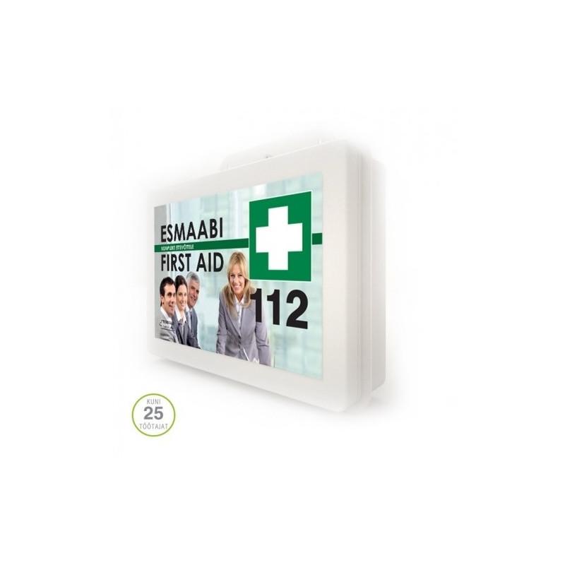 1aa4a00c41d Esmaabikomplekt ettevõttele plastkarbis (kuni 25 töötajat) - First ...