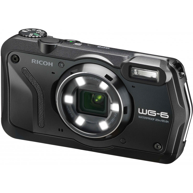 Ricoh WG-6, must