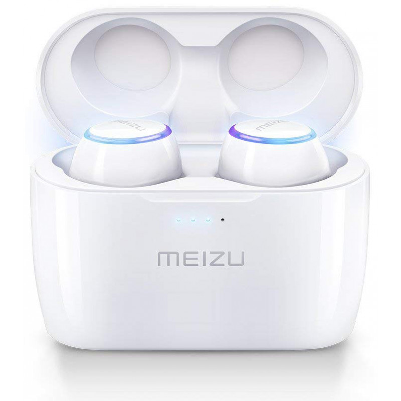 Meizu juhtmevabad kõrvaklapid + mikrofon Pop BT, valge