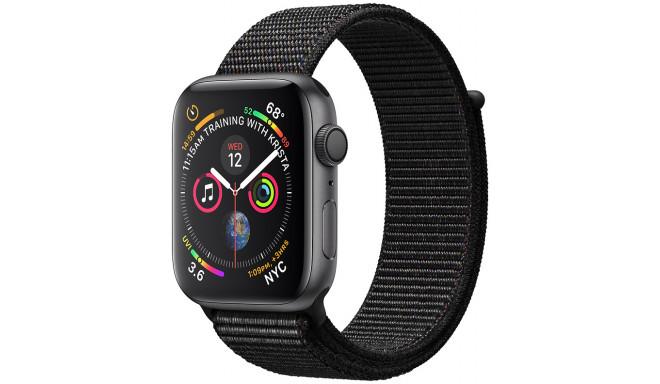 Apple Watch 4 GPS 44мм Sport Loop, черный