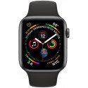 Apple Watch 4 GPS 44mm Sport Band, black