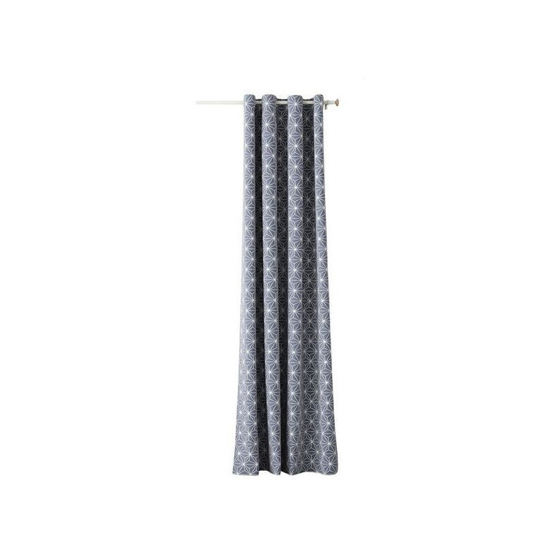 Room99 side curtain ROM1298 140x250cm, grey