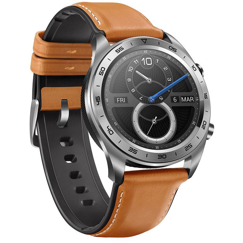 Huawei Honor Watch Magic, hõbedane/pruun