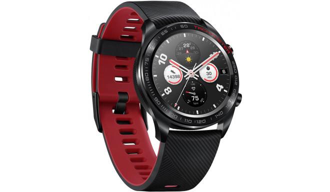 Huawei Honor Watch Magic, melns/sarkans