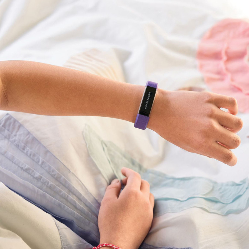 Fitbit aktiivsusmonitor Ace, lilla/hõbedane