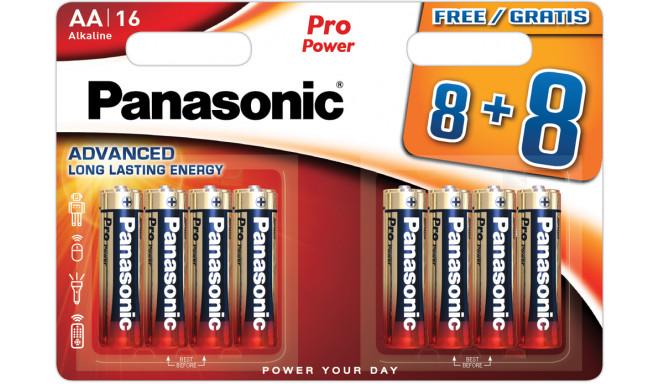 Panasonic Pro Power patarei LR6PPG/16B (8+8tk)