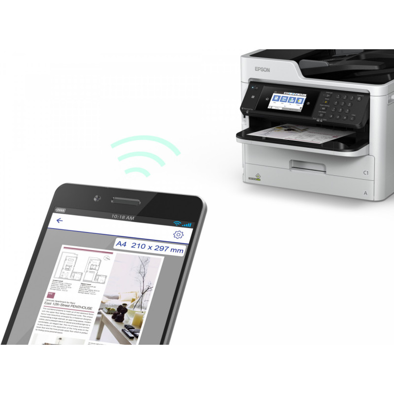 Epson tindiprinter WorkForce Pro WF-C5710DWF, hall