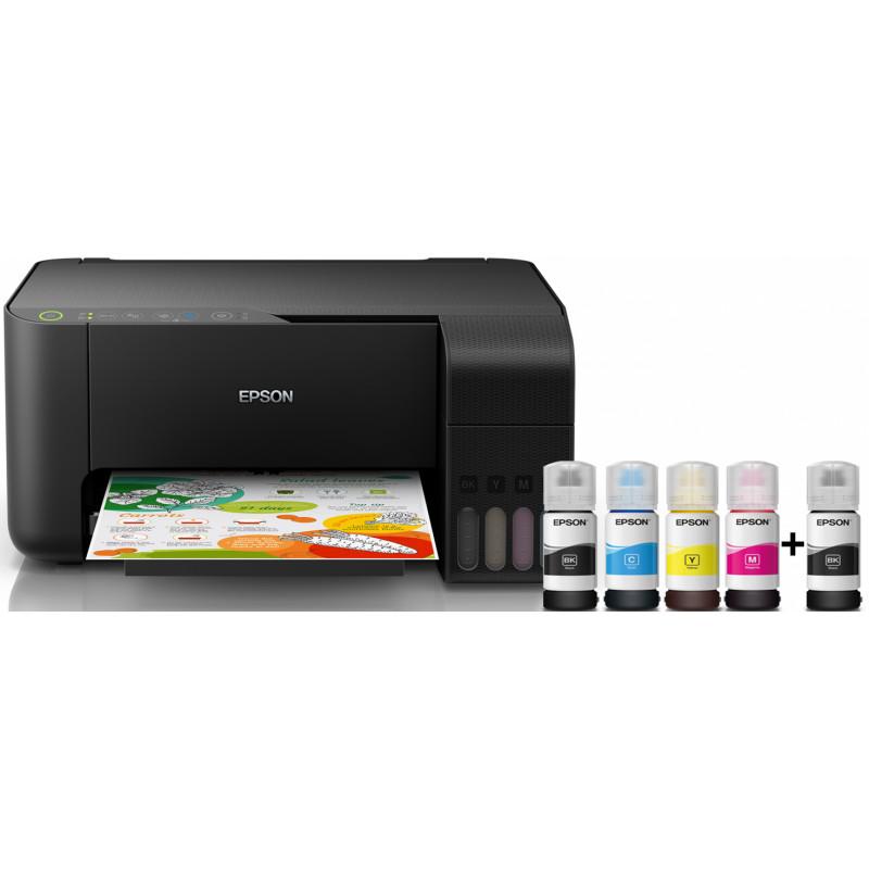 Струйный принтер Epson EcoTank L3150 3в1,черный