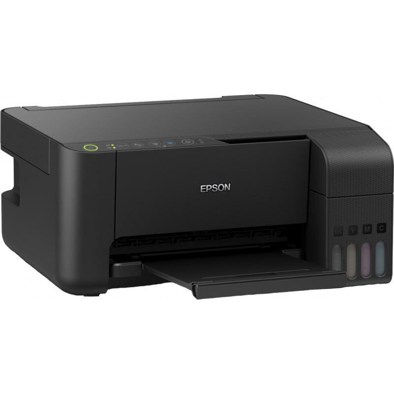 Epson inkjet printer EcoTank L3150 3in1, black