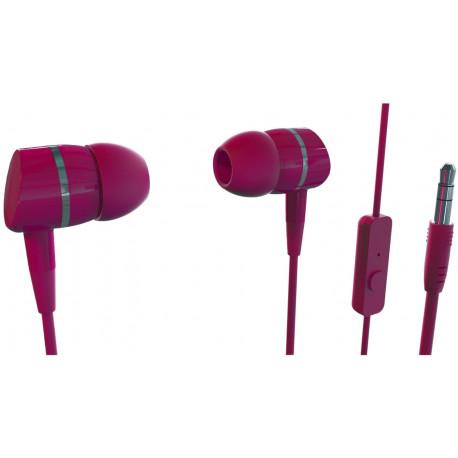 e032e80441b Vivanco kõrvaklapid + mikrofon Smartsound, punane (38012)