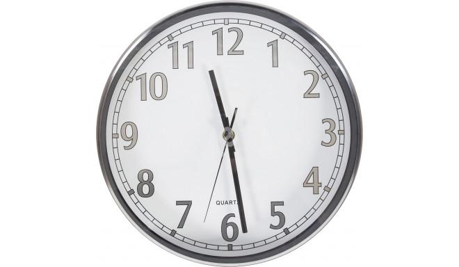 Chromo sienas pulkstenis 79648, balts