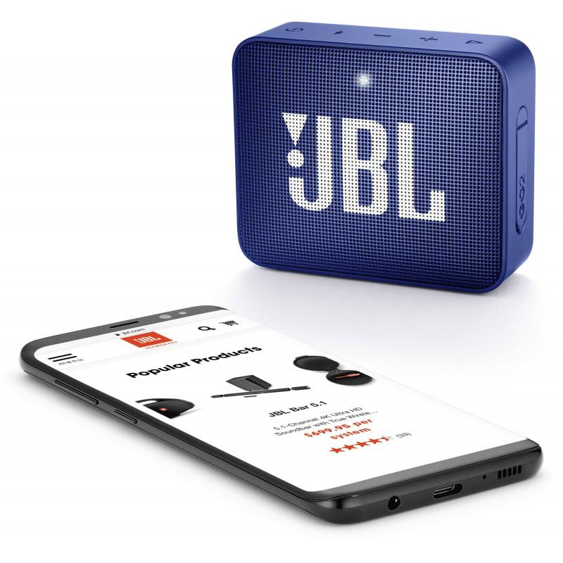JBL wireless speaker Go 2 BT, blue
