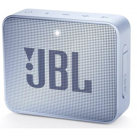 Беспроводная колонка JBL Go 2 BT, голубая