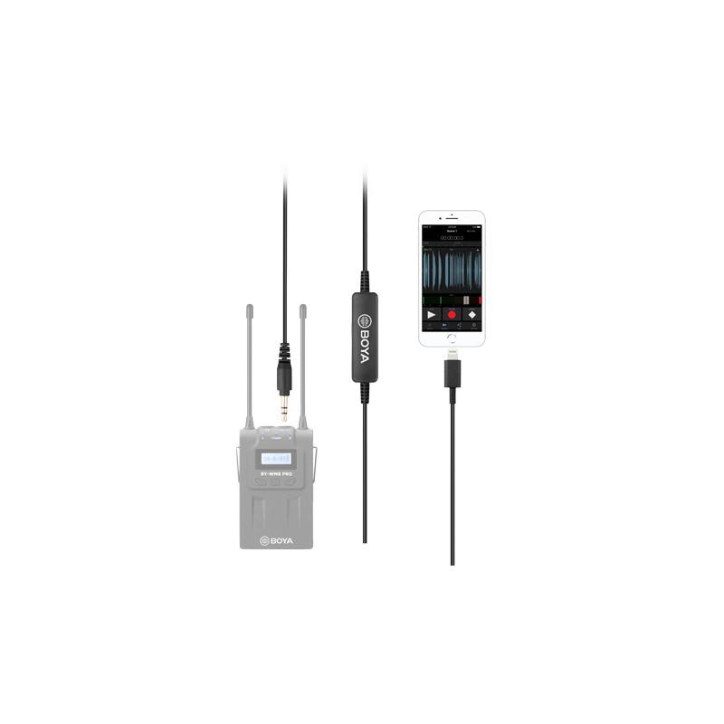 Boya adapter 3,5mm - Lightning 35C-L