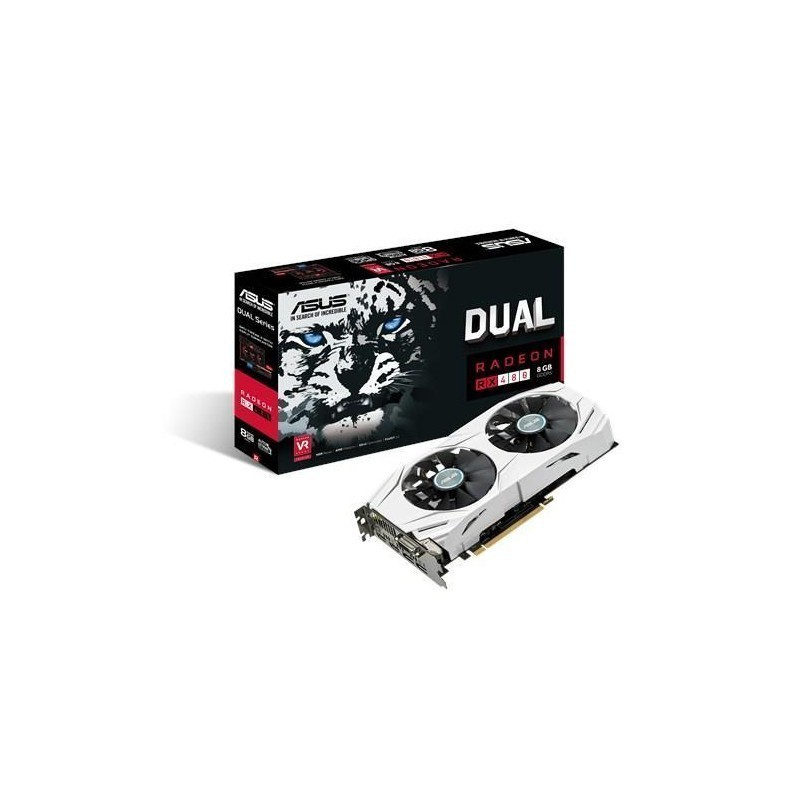 VGA PCIE16 RX 480 8GB GDDR5/DUAL-RX480-8G ASUS