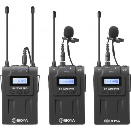 Boya mikrofons BY-WM8 Pro-K2 UHF Wireless